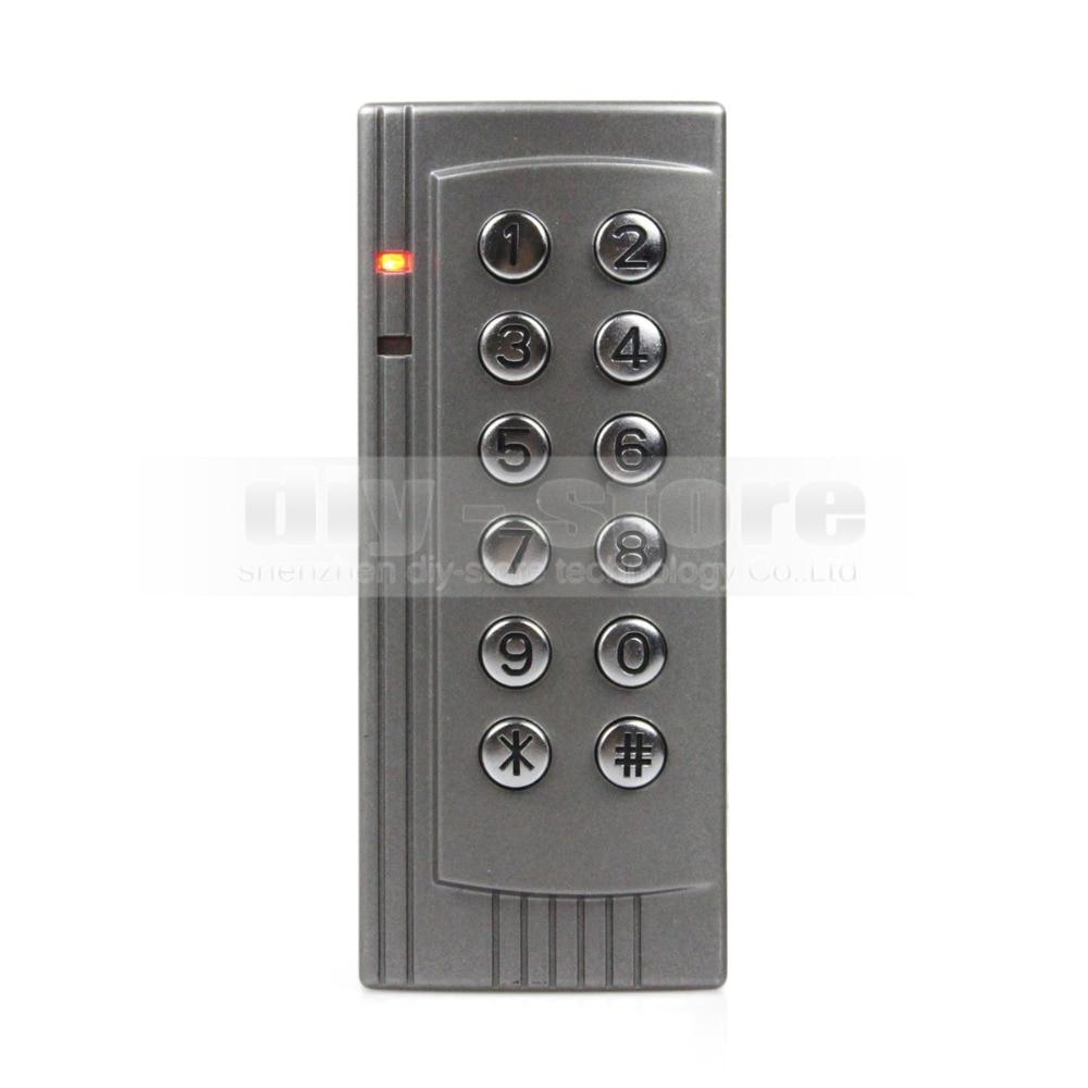 DIYSECUR Proximity RFID 125KHz Card Reader Access Control System Kit Keypad Control Panel for Office / Home Improve K4