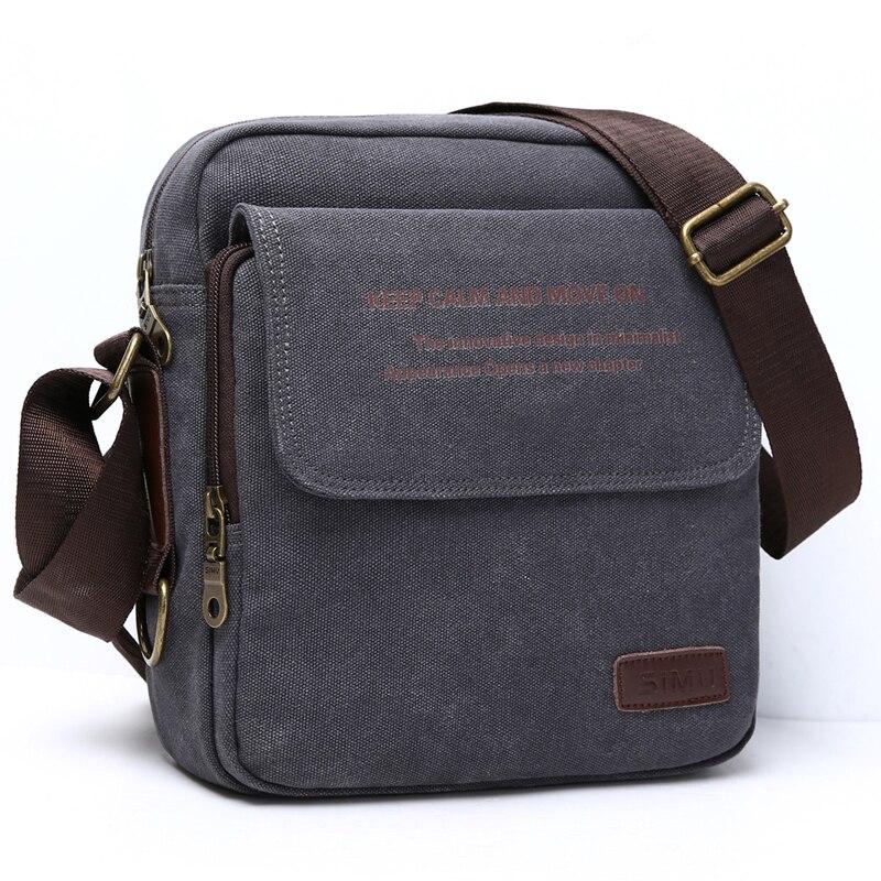 Mann Städtischen Tägliche Tragen Tasche Hohe Qualität Männer Leinwand Umhängetasche Lässig Reise herren Umhängetasche Tasche Männlichen Messenger Taschen 3 größe