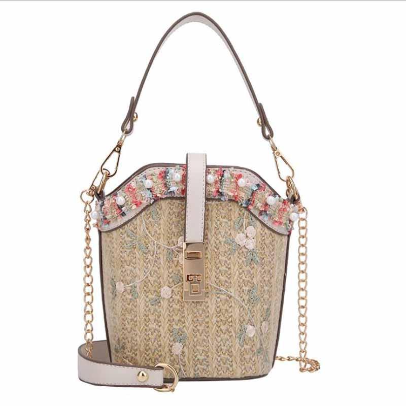 De alta calidad de ropa de mujer de lujo bolso de gran capacidad mujer bolso de hombro casual dama diario bolso fresco playa bolsa de compras