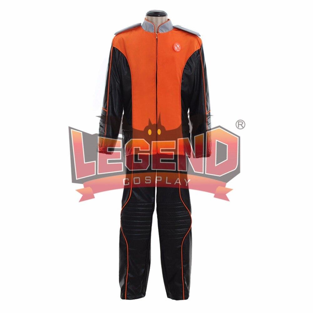 Traje de cosplay uniforme para el Departamento de Ingeniería de disfraces de Orville
