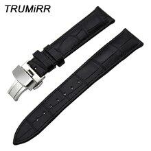 Bracelet de montre en cuir véritable + outil pour Tissot T035 PRC200 T17 T41 T461 bracelet de montre bracelet 18mm 19mm 20mm 21mm 22mm 23mm 24mm