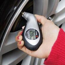 Jauge de pression pour pneu de sport   Indicateur de précision pour pneu de voiture Compact numérique feu vert feu arrière