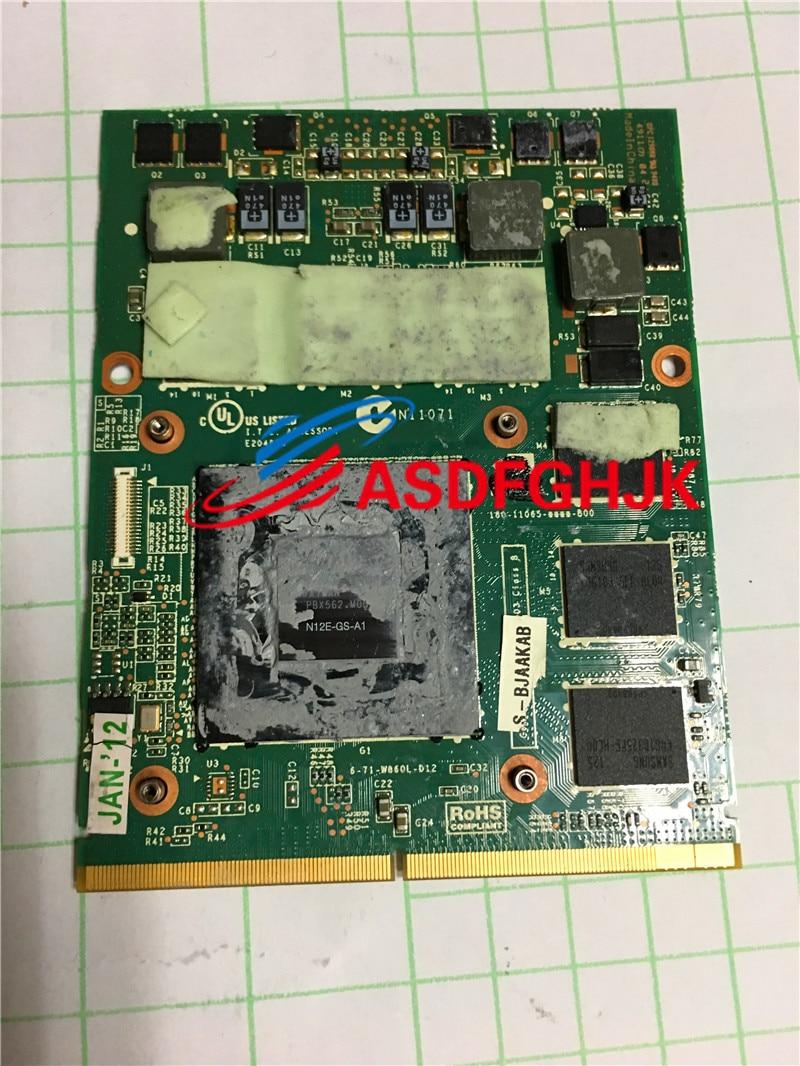 MS-1W041 VER:1.1 N12E-GS-A1 GTX 560M DDR5 الفيديو بطاقة VGA ل MSI GT70 GT60 GX660R GT660 MS-16F4 MS-1763 100% TESED موافق