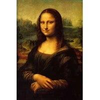 Toile dart mural pour decoration de maison  peinture murale  images pour salon  imprimes sur toile Mona Lisa  affiches et imprimes