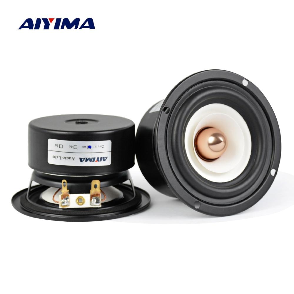 AIYIMA-Altavoz portátil de 3 pulgadas para cine en casa, dispositivo de sonido...