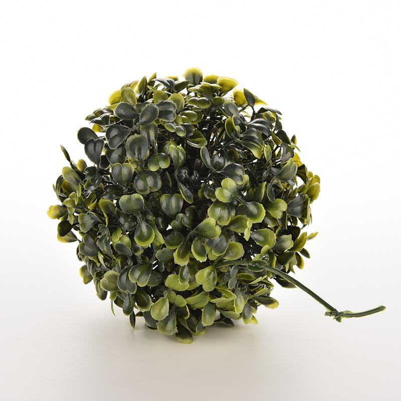 12cm boj Artificial Buxus bolas topiarias hierba planta cadena colgante para boda fiesta Favor decoración hogar