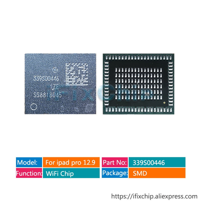 339S00446 módulo wifi IC para ipad pro 12,9 2018 A1893/A1954 Chip Wi-Fi de alta temperatura WLAN bluetooth wifi versión IC módulo
