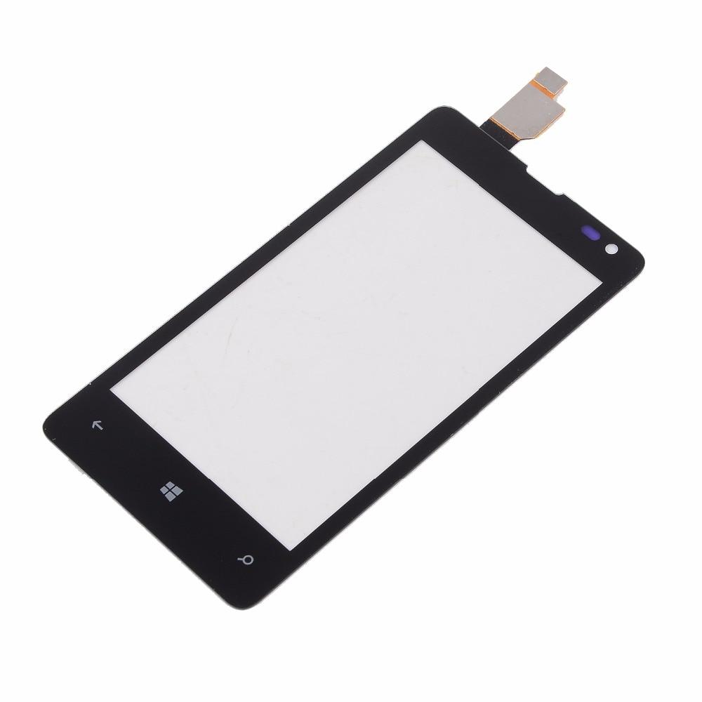 Microsoft para Nokia Lumia 435 N435 532 N532 carcasa Digitalizador de pantalla...