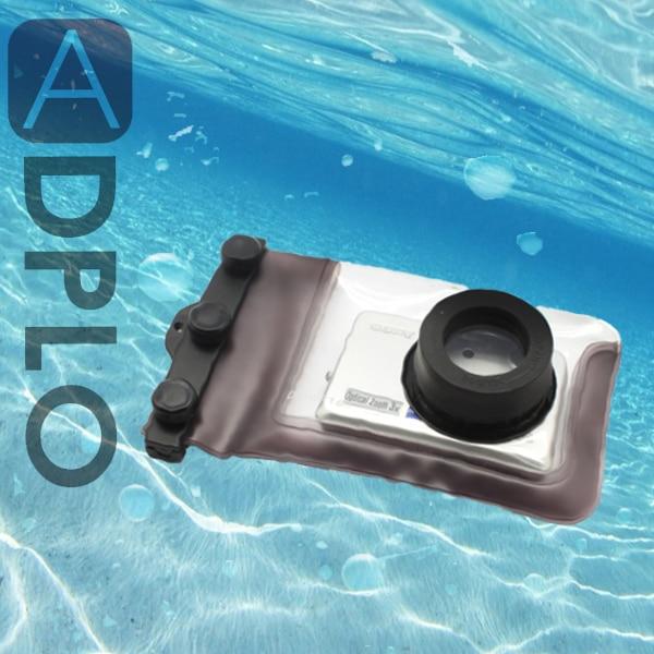 Funda impermeable subacuática bolsa buceo Cámara protectora carcasa DC-WP100