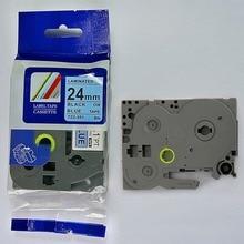 Compatible Tz Labeling Tape Tze551 24mm Black On Blue Tze-551