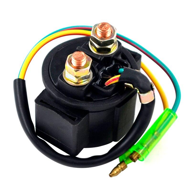 Motorcycle Starter Relay Solenoid Electrical Switch for Kawasaki KZ550 1980-1983/KZ650 CSR 1981-1983/KZ700 1984/KZ750 CSR 1982