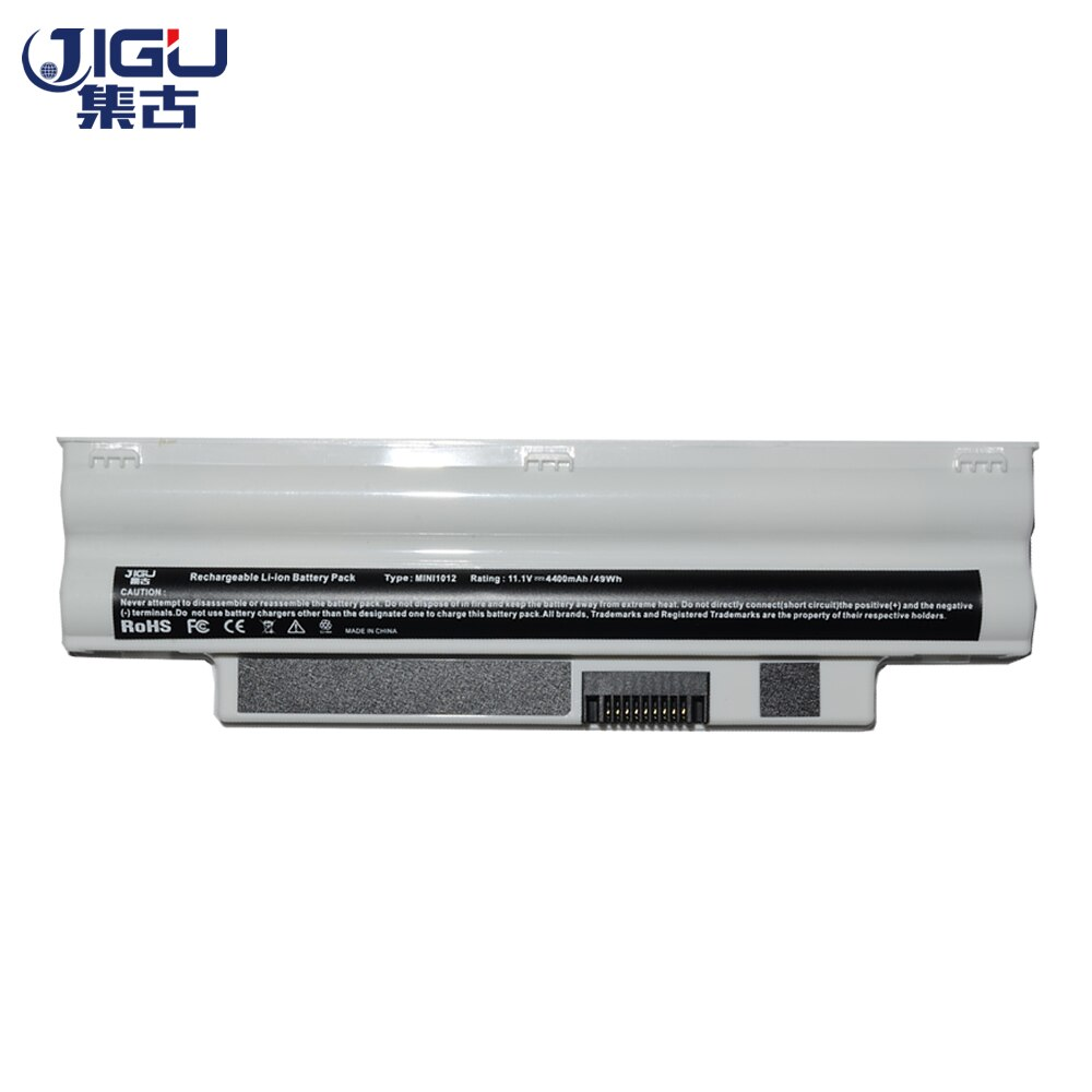 JIGU White New 6Cells Laptop Battery For DELL For Inspiron Mini 1012 Netbook 10.1 3K4T8 8PY7N 854TJ