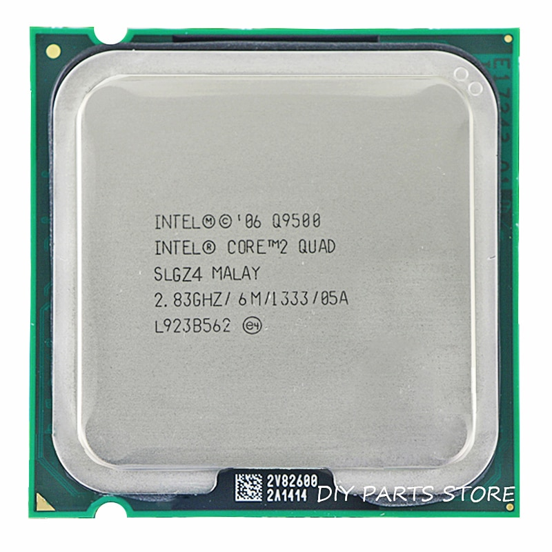 Intel core 2 quad q9500 soquete lga 775 processador cpu 2.8 ghz/6 m/1333 ghz