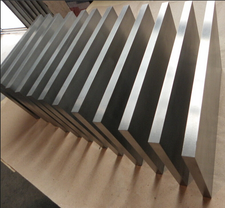 Correa de aleación de titanio 0,8x100x100mm hoja de titanio pureTA2