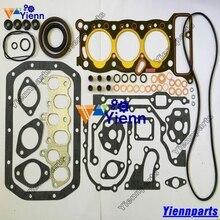 Jeu de joints et bague de Piston 3KC1 3KC2   Kit de roulement pour SUMITOMO S85UX S90F2 S90FX2 pièces de moteur diesel 3KC1 3KC2