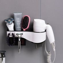 Wall Mounted Hair Dryer Storage Organizer Rack Holder Hanger Using in Bathroom Salon Stylist Tool Drier Hair dryer rack