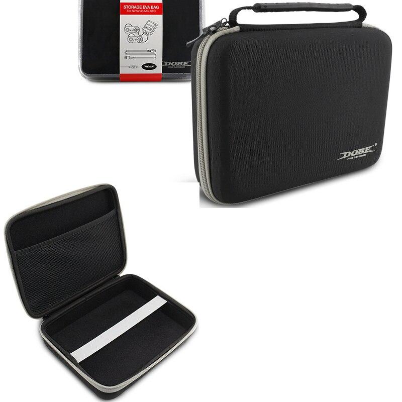 Bolsa de Estuche de transporte dura EVA para SNE S Classic Nintend Mini S FC funda de viaje dura para SNES mini bolsa de almacenamiento