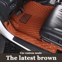 custom fit car floor mats for jeep grand cherokee commander compass patriot 6d heavyduty carpet floor liner