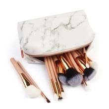 Porte-monnaie filles 2019, sac de rangement motif marbre, motif de rangement pour pièces de monnaie, mignon, sac à fermeture éclair, maquillage cosmétique