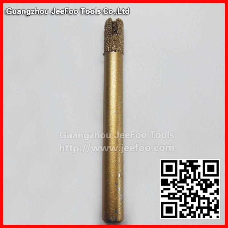 A14-6 * 6*12mm diamante sinterização pedra e vidro gravura bits/mármore corte/roteador bits cortadores