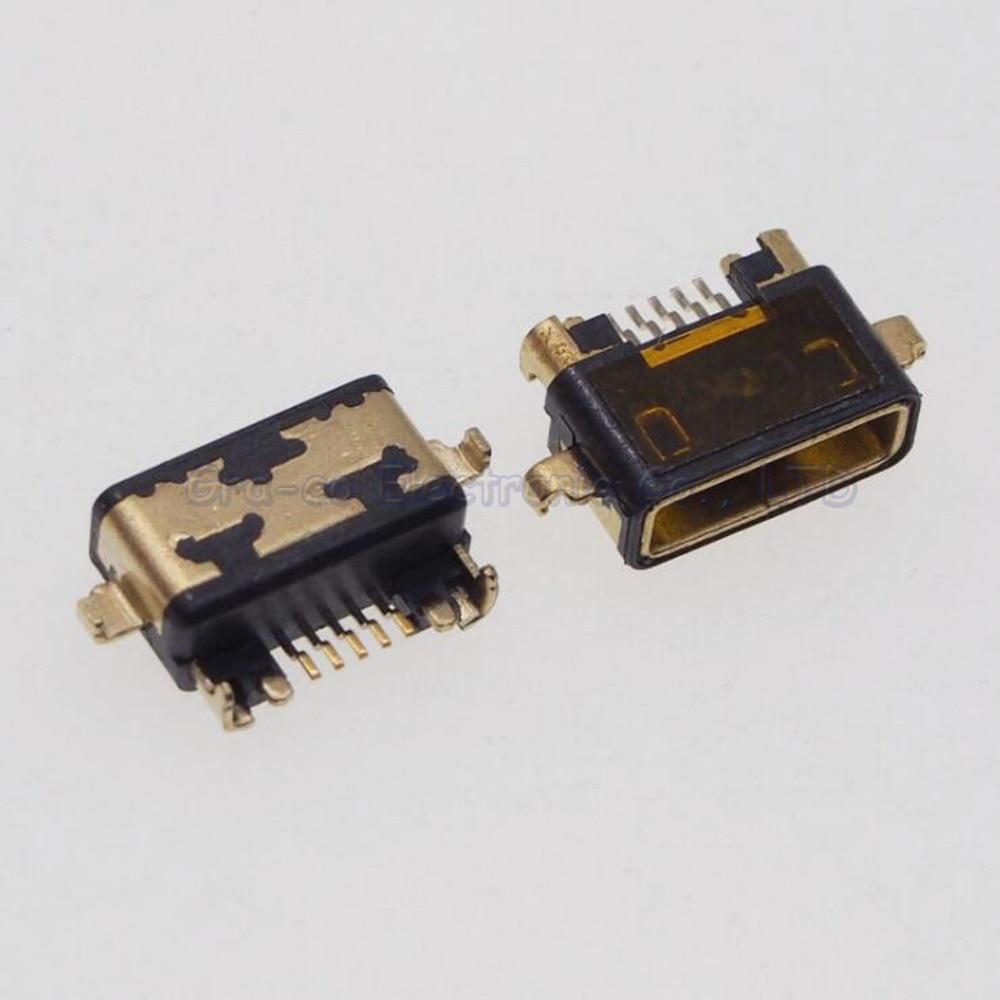 50 Uds Conector Micro USB Jack toma de carga tipo USB para Sony Ericsson ST18I LT29 X12 LT15i ST27I LT18i MT15i L36H etc.