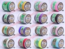 Gratis Verzending 24 Kleuren 330 Yards x 1.0mm Chinese Knoop Nylon Macrame Cords Rattai Shamballa Gevlochten Armband Cord Made In Taiwan