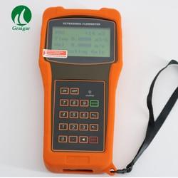 Profissional Digital de Medidor de Fluxo de medidor de Vazão Ultrassônico TUF-2000H com Transdutor TM-1 com Isolar RS232 Interface