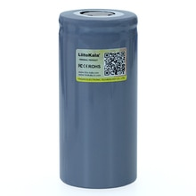 4 Uds LiitoKala 32700 3,2 V 6500mAh LiFePO4 batería recargable LiFePO4 55A batería de descarga para la linterna de energía de respaldo