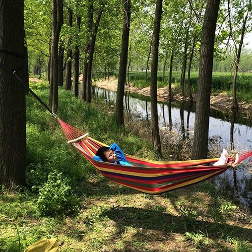 Correa fuerte de nailon para Hamaca, cinturón colgante portátil para árbol, cuerda para árbol, herramienta de acampada al aire libre con hebillas