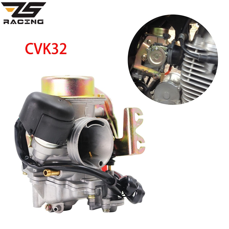 Сменный карбюратор ZS для гоночного мотоцикла CVK32 Мощный насос KEIHIN 32 мм двигателя