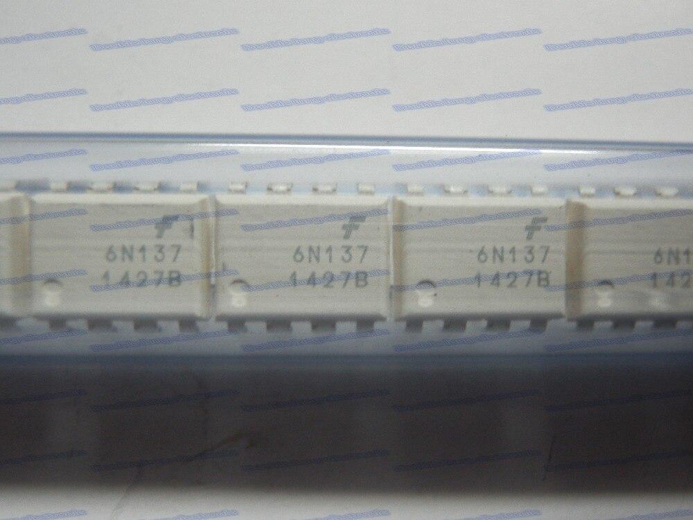 30 unids/lote nuevo y original 6N137 OPTOISO 2.5KV OPN colector 8DIP