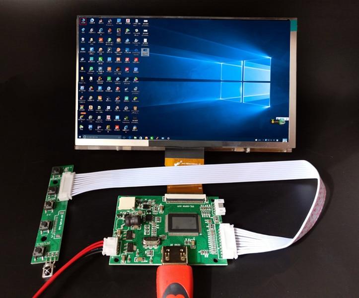 7inch 1024*600 HD LCD Display Screen High Resolution Monitor Driver Control Board HDMI For Lattepanda Raspberry Pi Banana Pi