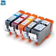 Pgi-520 PGI 520 BK CLI 521 BK C M Y tinte patrone Für canon PIXMA MP540/MP550/MP560/MP620/MP630/MP640 drucker mit chip