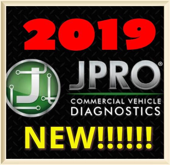 Nnoregon JPRO diagnósticos de flota comercial 2019v1 + keygen de activación