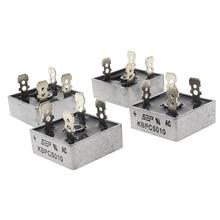 1 pièces KBPC 5010 1000 volts pont redresseur 50 ampères 50A boîtier métallique 1000 V Diode pont vente chaude