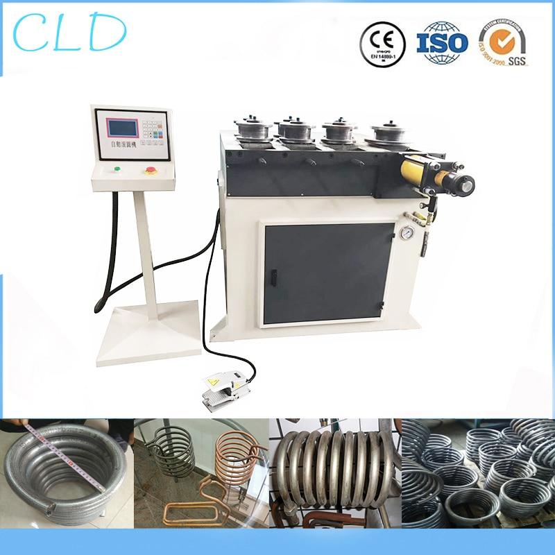 Máquina de laminación, máquina de laminación de tubos de hierro de acero inoxidable, máquina de doblado de bobinado, 40mm