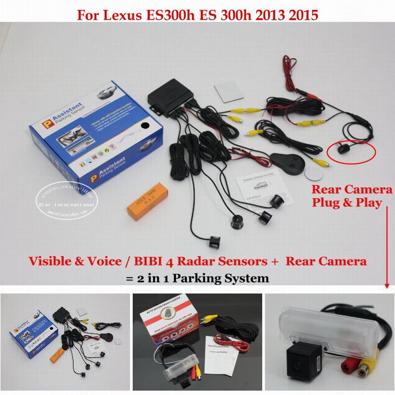 For Lexus ES300h ES 300h 2013 2015 Car Parking Sensor Sensors Auto Alarm System highquality Rearview Reverse Camera