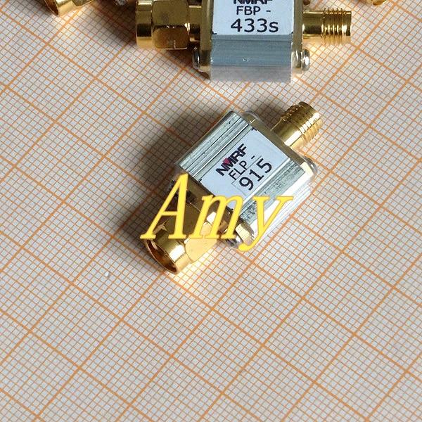 915MHz تتفاعل يستخدم مرشح تمرير منخفض ، RF محوري LC ، LPF ، واجهة SMA.