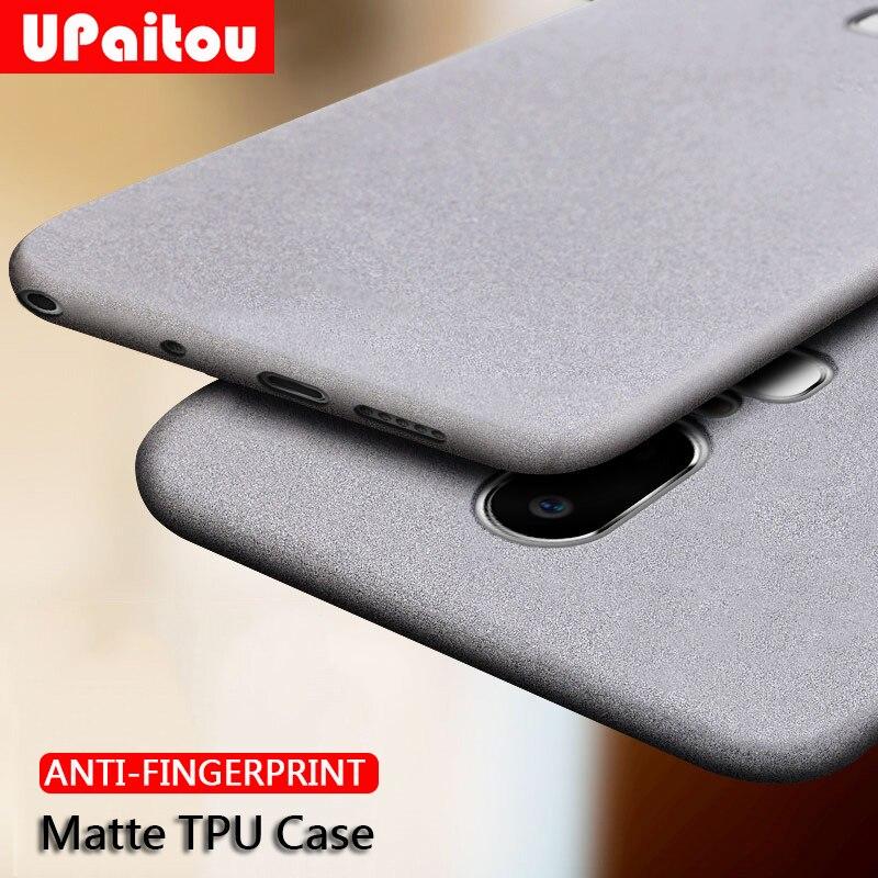 UPaitou Fall für Oneplus 1 + 7 Pro 6T 6 5T 5 3 3T Anti Fingerprint Fall weiche Silikon Matte Ultra Dünne TPU Abdeckung Für 1 + 6T Fall