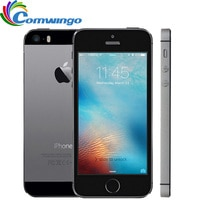 Original Unlocked Apple iPhone 5S 16GB / 32GB ROM IOS Touch ID Fingerprint  4.0'' A7 IPS 4G Mobile iphone5s A1533 / A1457 Used