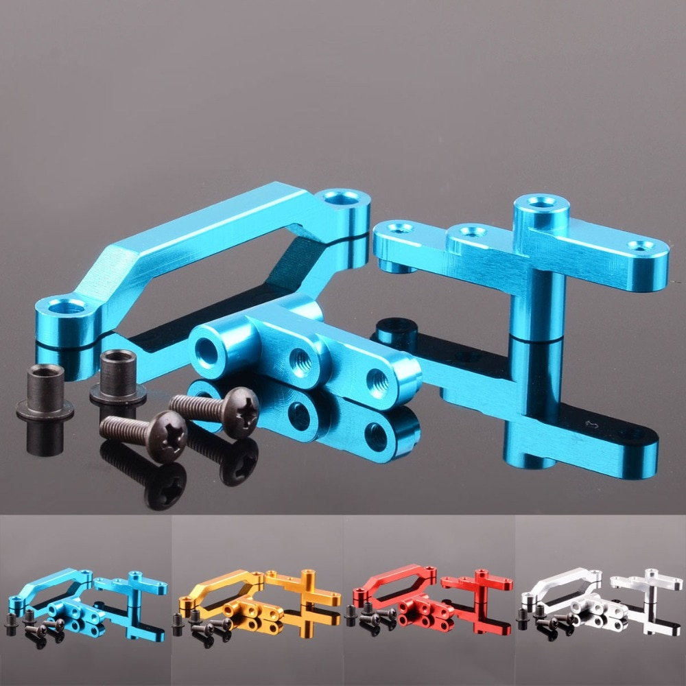 1 juego Servo de aluminio completo 31015 para RC 110 Himoto eléctrico E10XT E10XTL Katana Truggy E10 piezas de mejora de repuesto