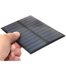 BUHESHUI 100PCS/Lot 1.8W 5.5V Solar Cell Polycrystalline High Quality Solar Panel DIY Solar Charger/Solar Module System 123*83MM