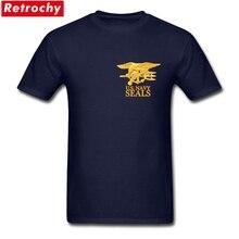 Us armée marine sceaux T-Shirts hommes 100% coton grande taille T-Shirts hommes fier vétéran t-shirt à manches courtes XS-3XL