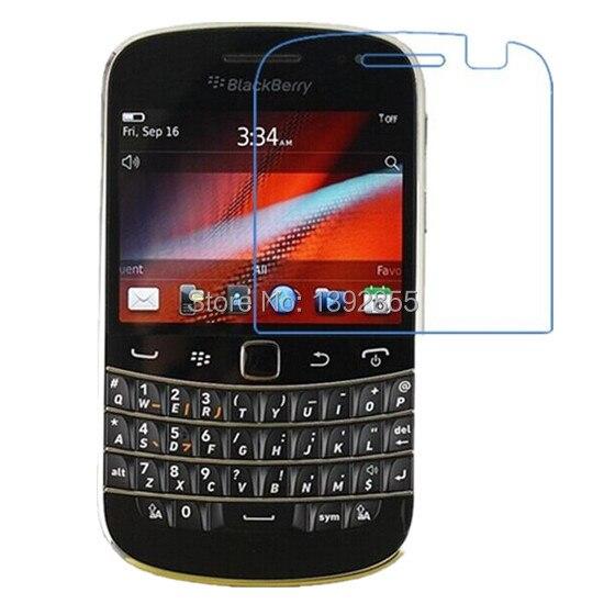 5 unids/lote mate Protector de pantalla antideslumbrante para Blackberry Bold 9900 9930 película protectora Anti huellas dactilares