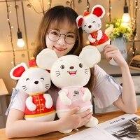 2028cm mini cartoon rabbit penguin hamster koala stuffed animal toy doll cute creative furry toy gift boy girl birthday gift
