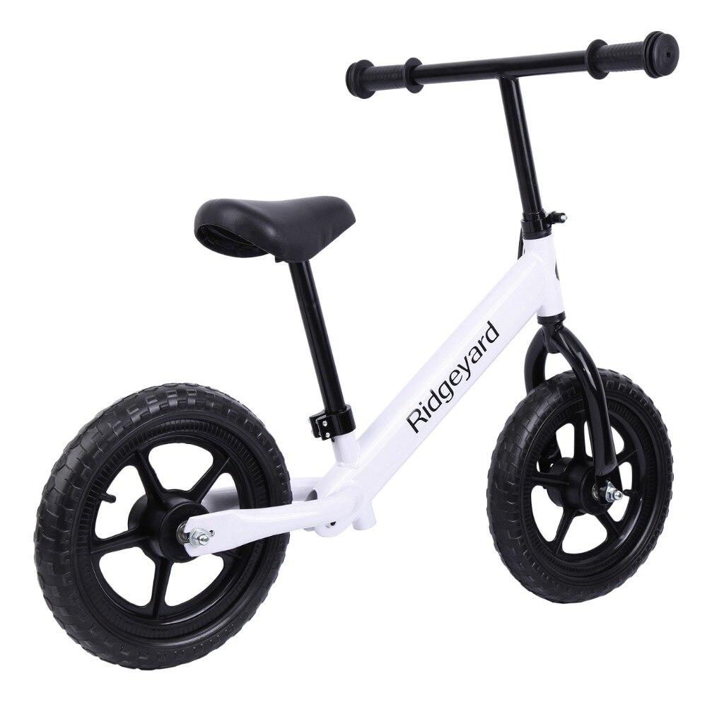 """(Envío desde EE. UU.) Ridgeyard 12 """"bicicleta de entrenamiento de equilibrio de chico sin Pedal aprender a montar bicicleta de Pre empuje"""