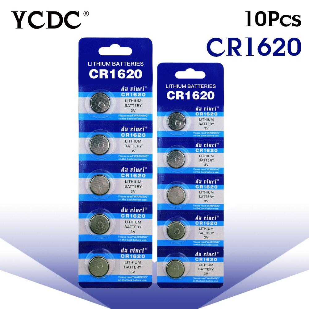 3,28 große Förderung 10Pcs CR1620 CR 1620 3v Lithium-taste Batterie fernbedienung auto fernbedienung batterie Waagen, motherboard batterie