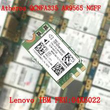 Atheros QCNFA335 WLAN Wifi Bluetooth4.0 NGFF Wireless Card for Lenovo G40-30 45 70 B50 V1000 FRU04X6022 WLAN
