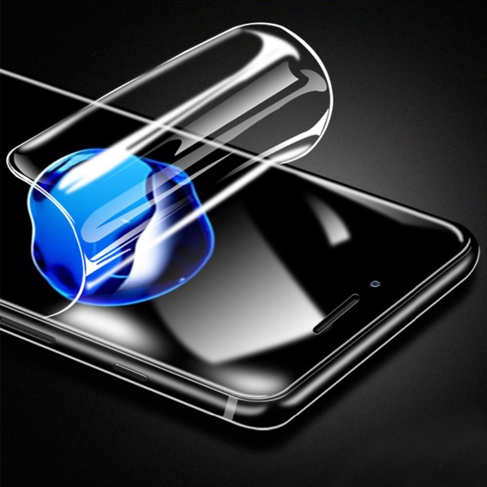 Hidrogel Protector 3D para iPhone 11 Pro X XR XS Max 6 6S 7 8 Plus película protectora de pantalla gel Protector de manicura cubierta completa no cristal