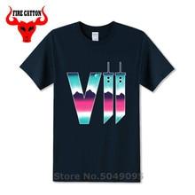 2019 néon fantaisie t-shirts hommes Final fantaisie t-shirt nuage strife FF7 FFVII t-shirt Buster épée t-shirt jeu Sephiroth chemise